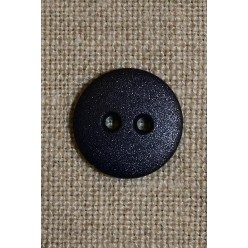 Mørkeblå 2-huls knap 15 mm.-31