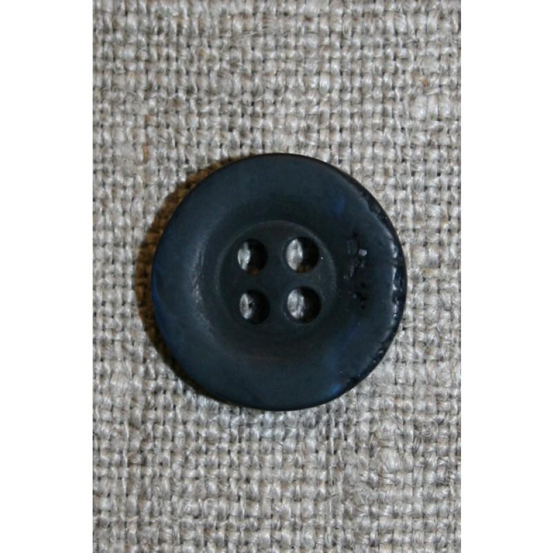 """Mørkeblå """"krakeleret"""" 15 mm.-31"""