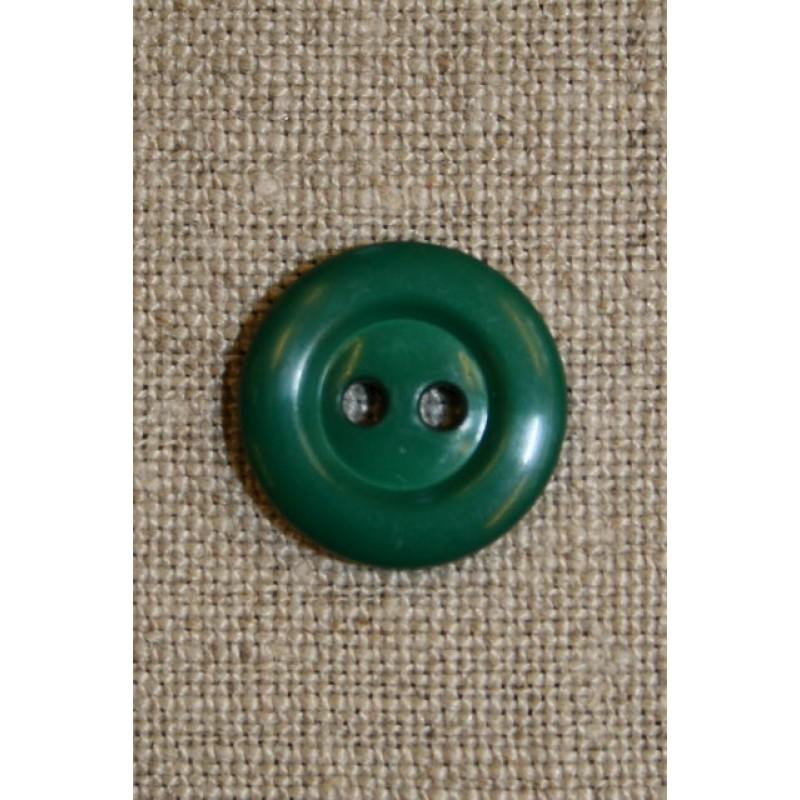 Grøn 2-huls knap-31