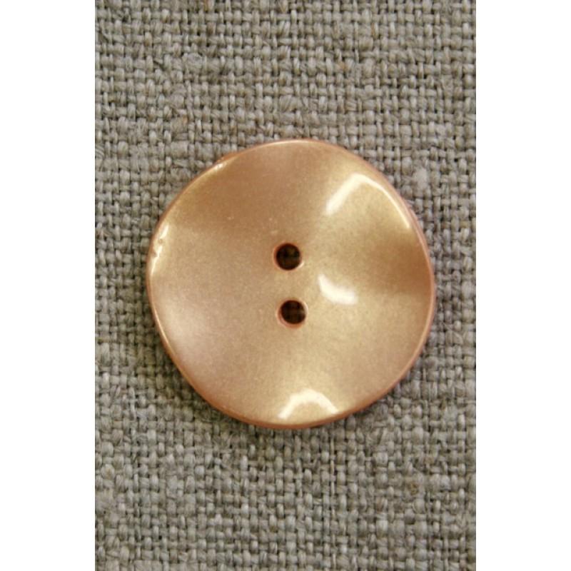 Skæv knap, pudder, 20 mm.-33