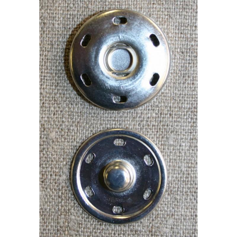 Tryklås 30 mm, sølv-33