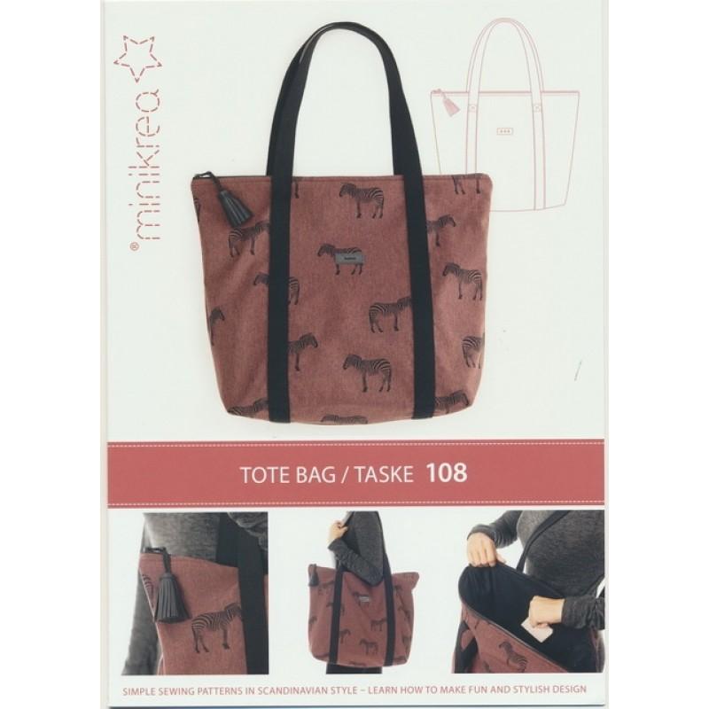 108 Minikrea Tote bag/Taske-310