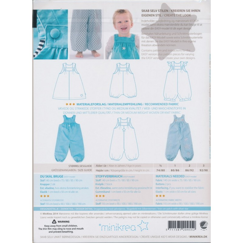 20455 Minikrea retro overall/spencer-35