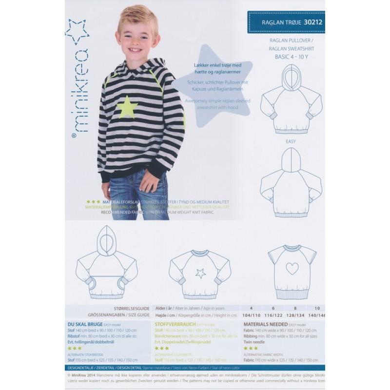30212 Minikrea Raglan trøje-35