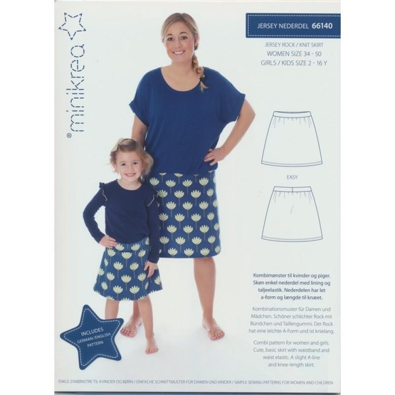 66140 Minikrea Jersey nederdel pige/dame-011