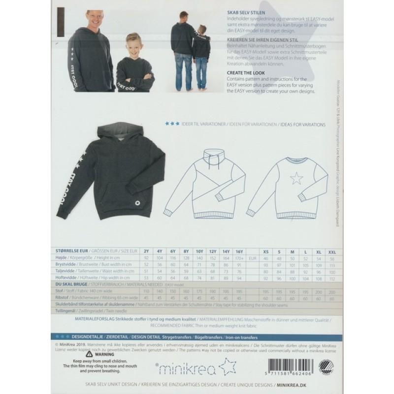 66240 Minikrea Sweatshirt til dreng/herre-36