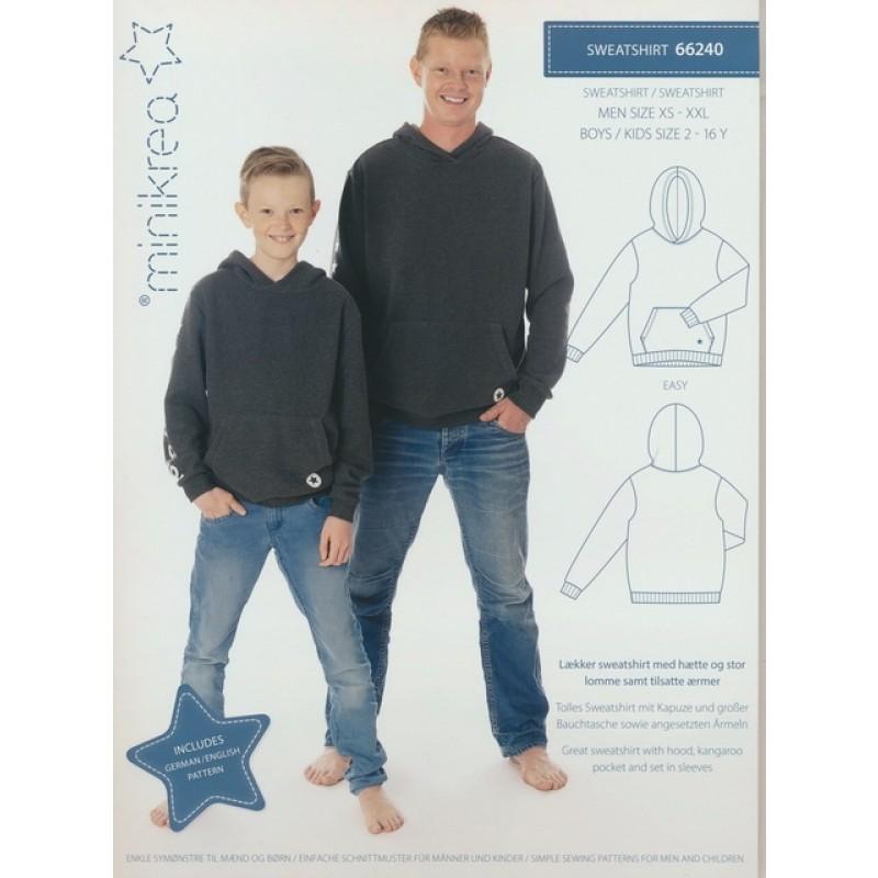 66240 Minikrea Sweatshirt til dreng/herre-06