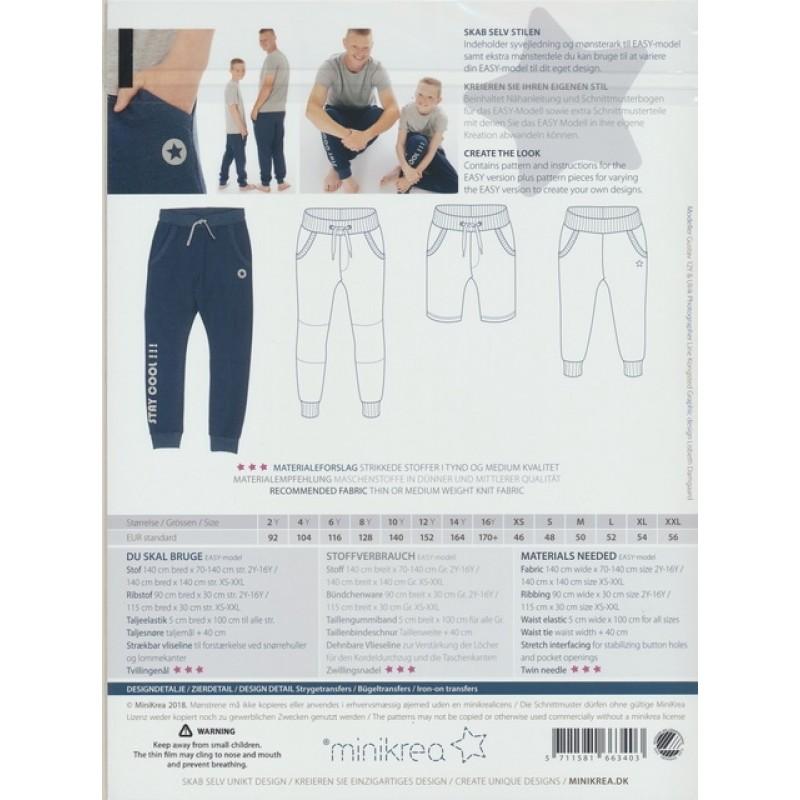 66340 Minikrea Sweatpants dreng/herre-34