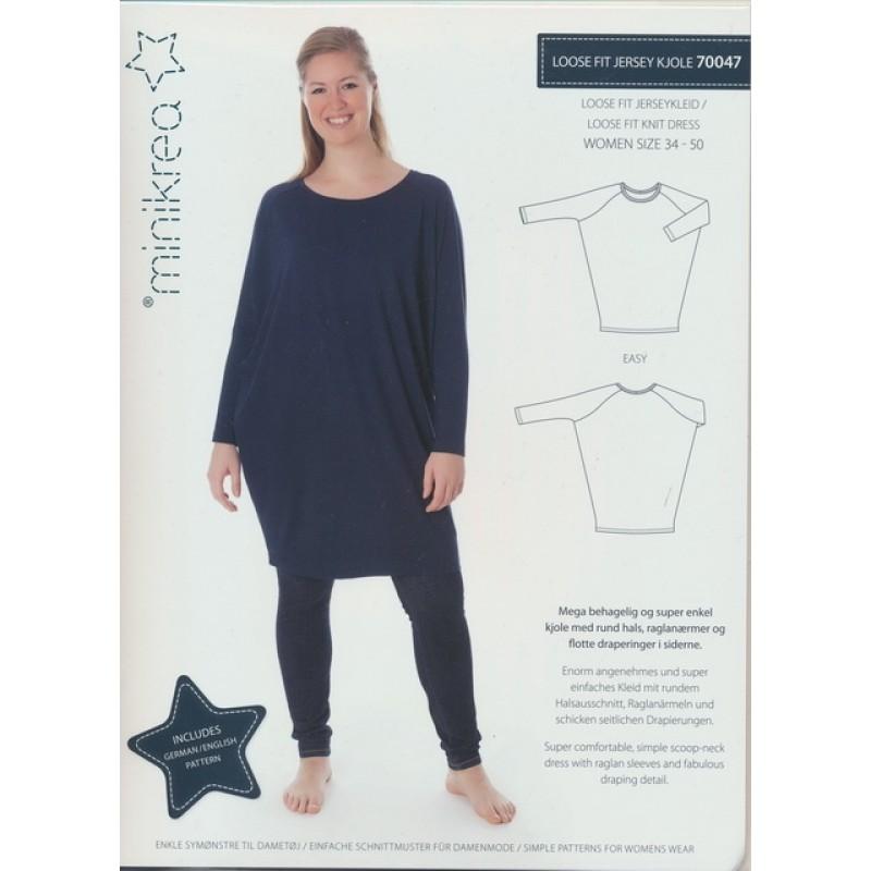 70047 Minikrea loose fit jersey kjole-011