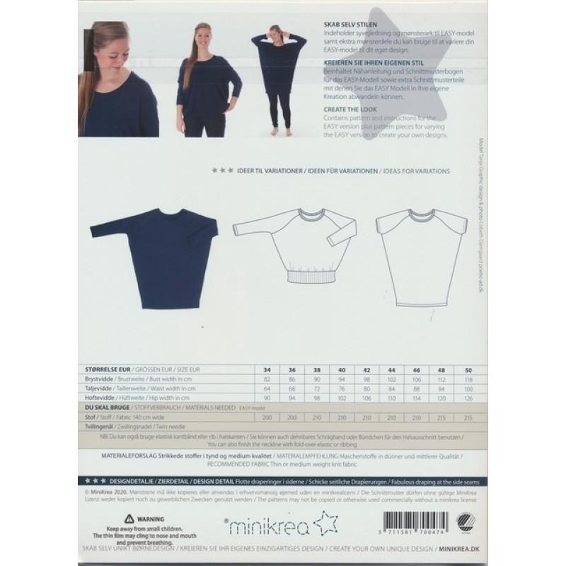 70047 Minikrea loose fit jersey kjole-311
