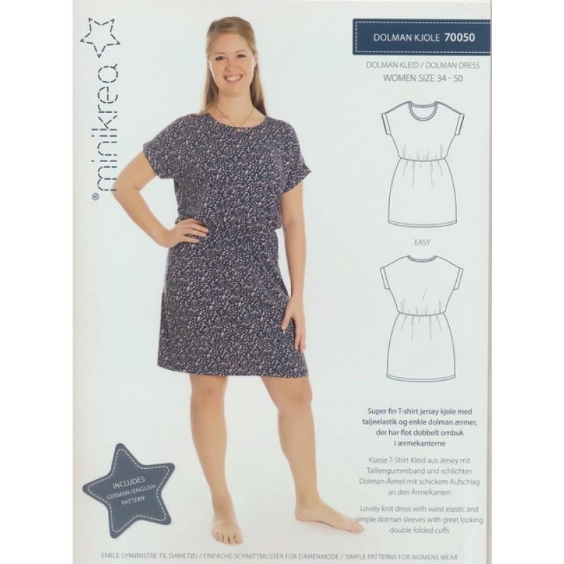 70050 Minikrea Dolman kjole til voksne-09
