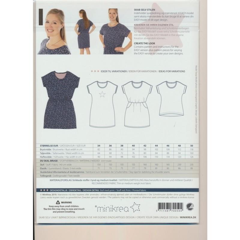 70050 Minikrea Dolman kjole til voksne-39