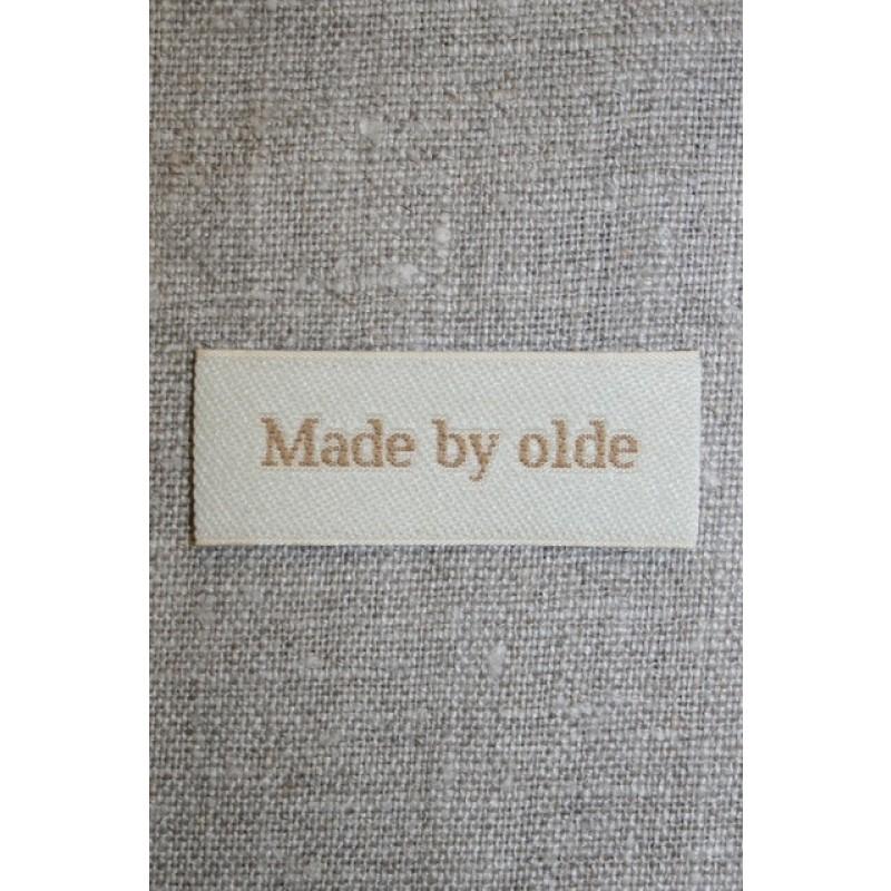 """Beige mærke """"Made by olde""""-31"""