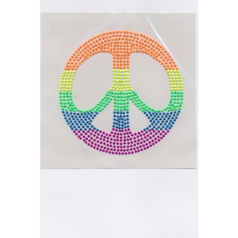 Neon mærke m/peace-31