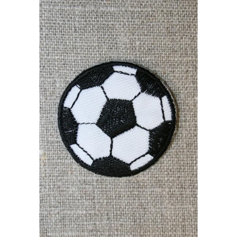Fodbold sort/hvid, lille
