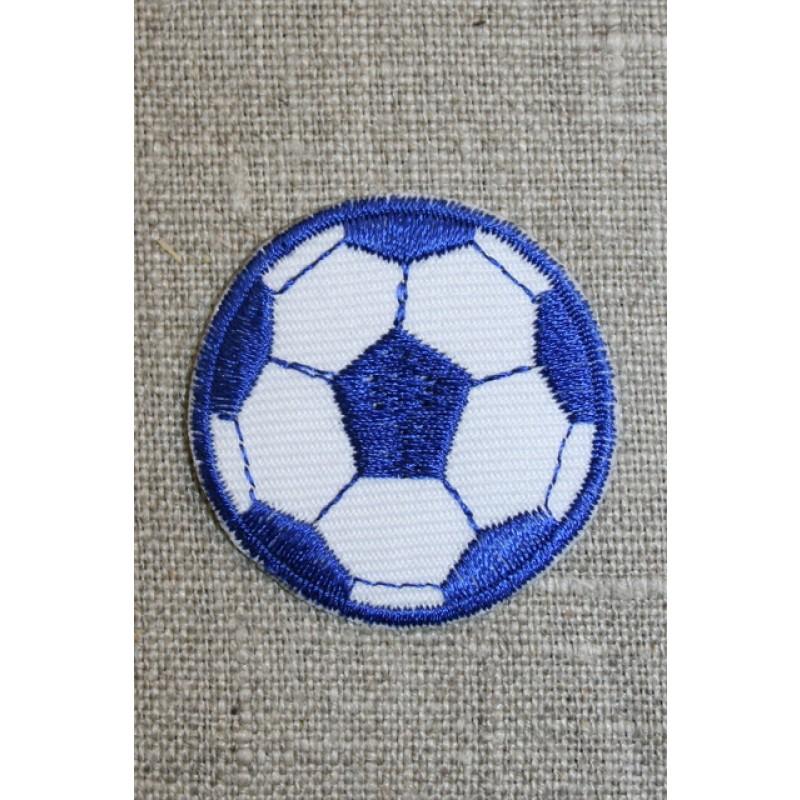 Fodbold blå/hvid, lille-31