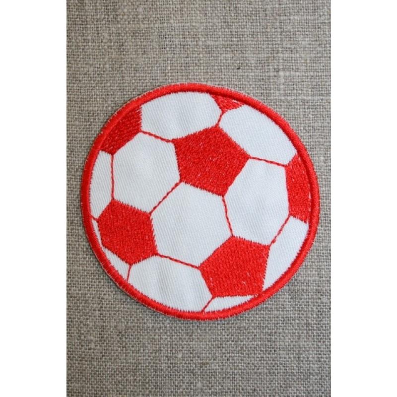 Fodbold rød/hvid, stor-31