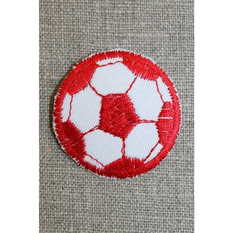Fodbold rød/hvid, lille-31