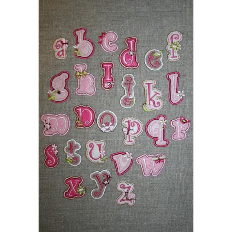 Bogstaver til påstrygning, pige G-33