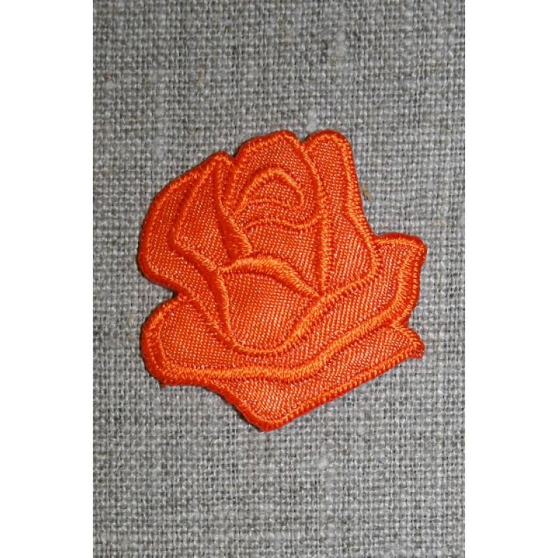 Motiv m/rose, orange-33