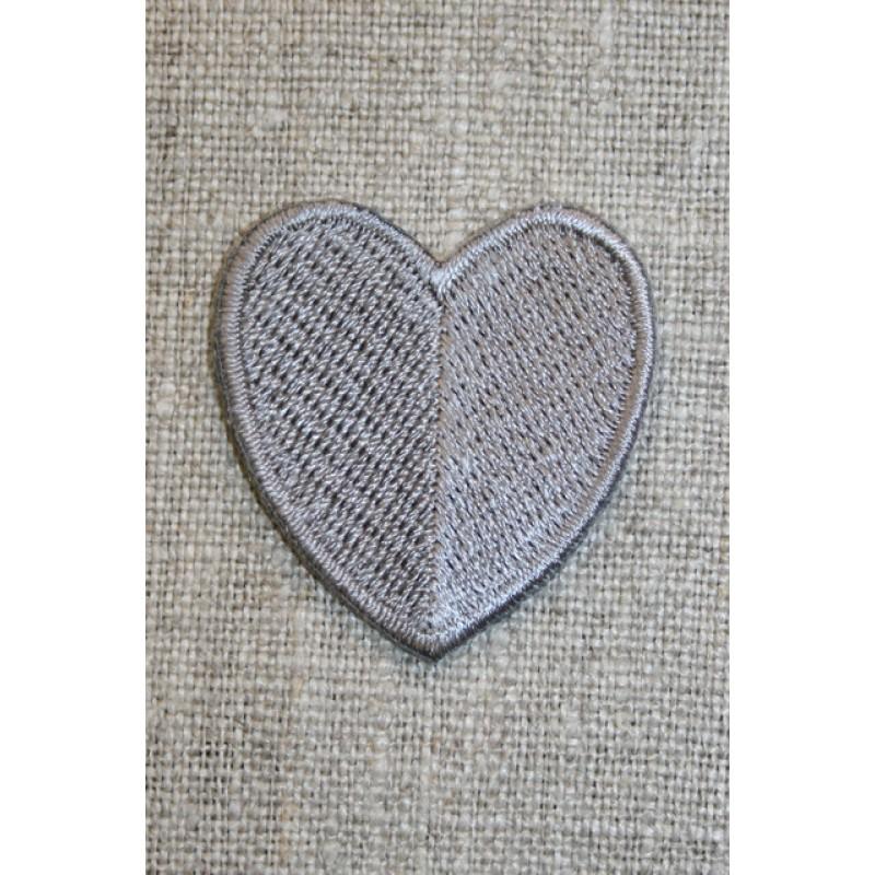 Hjerte grå-33