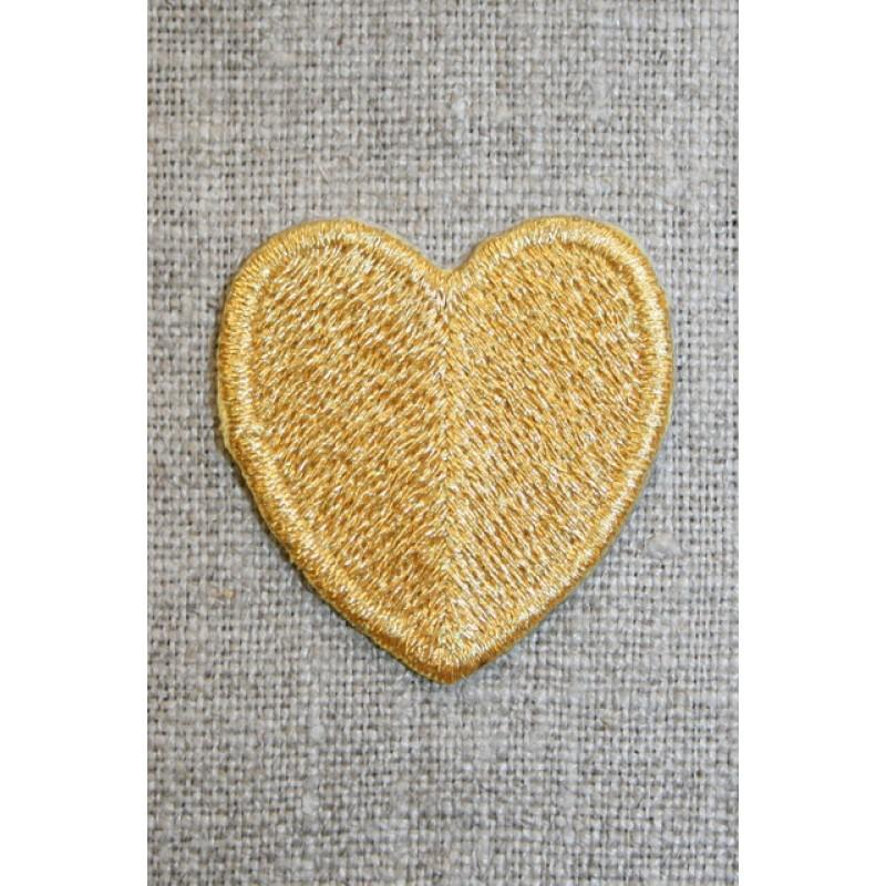 Hjerte guld-33