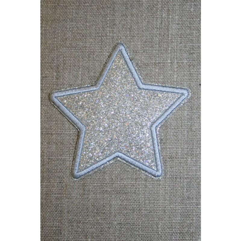 Motiv i sølv, stjerne 75 mm.-35