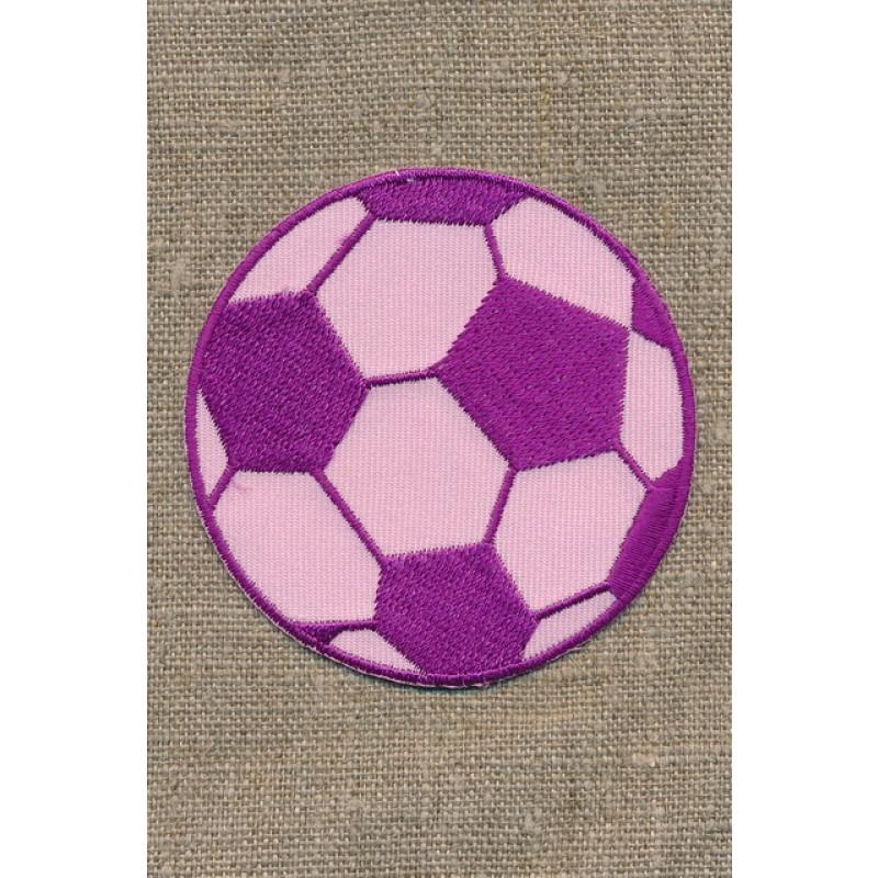 Fodbold lyserød/cerisse, stor-31