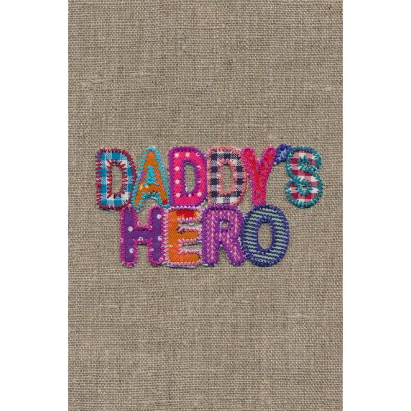 "Strygemærke ""DaddyŽs hero""-35"