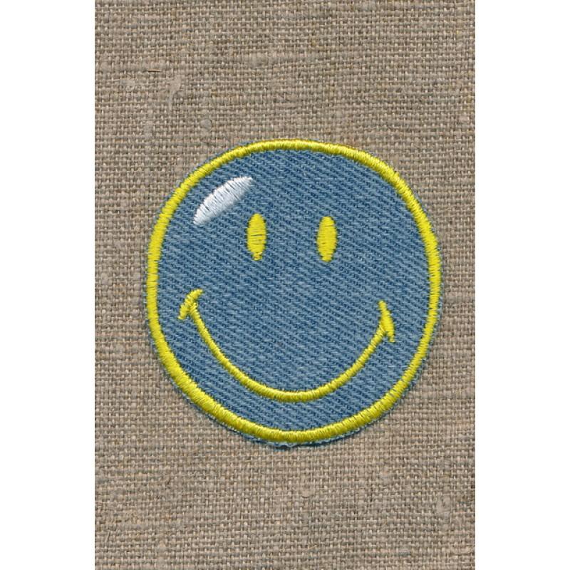 Motiv Smiley cowboy/gul-33