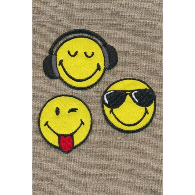 Motiv Smiley 3 stk.-35