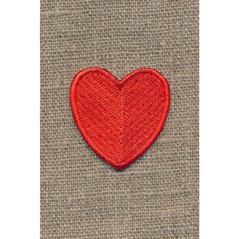 Motiv m/rødt hjerte, 35 mm