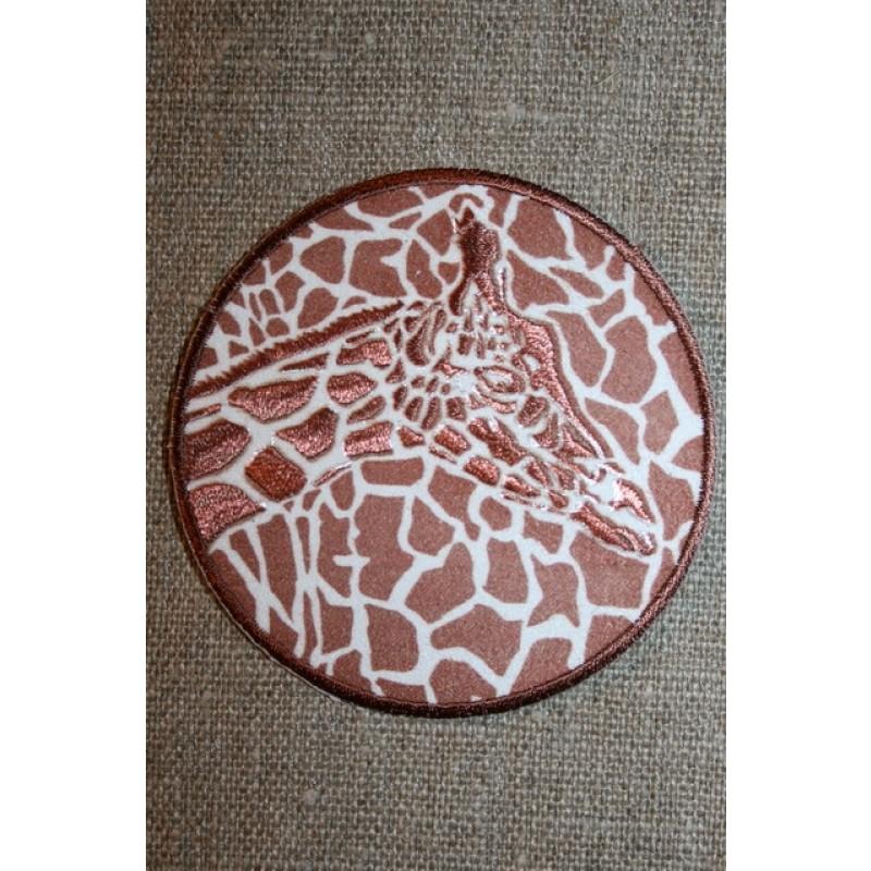 Rundt strygemærke giraf