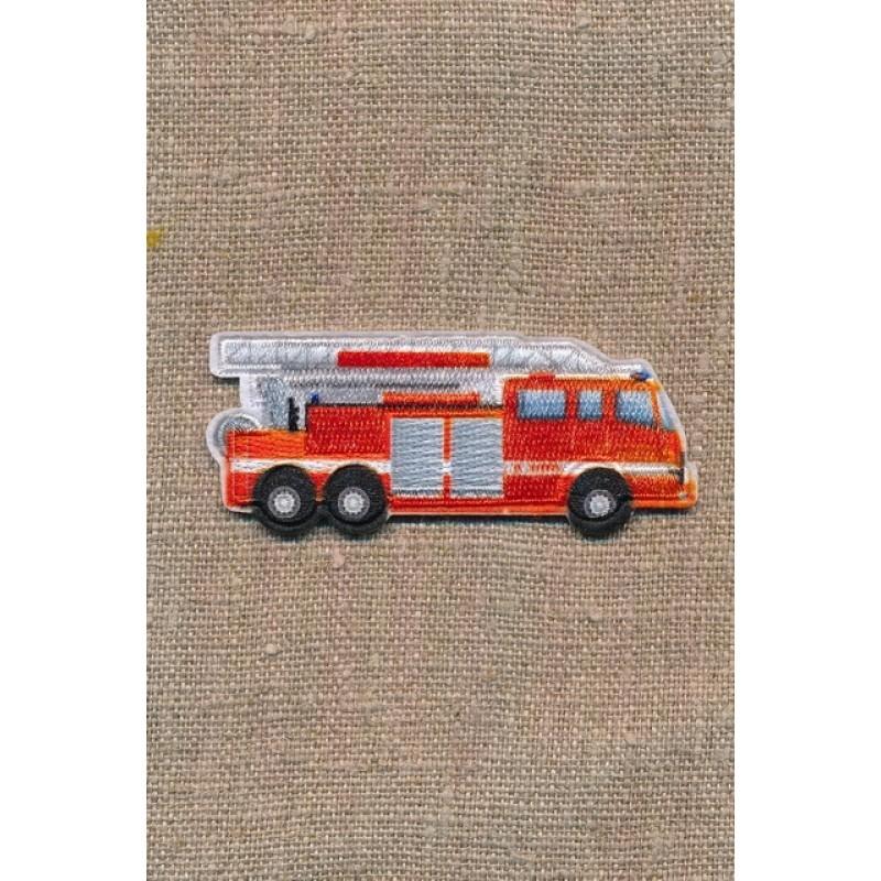 Strygemærke med brandbil
