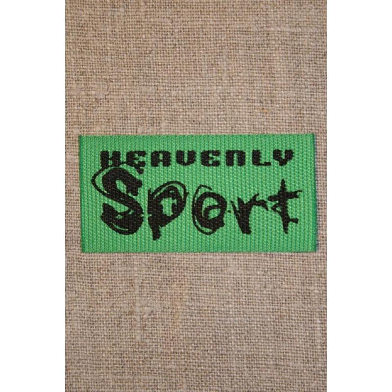 Sort/grøn Heavenly sport