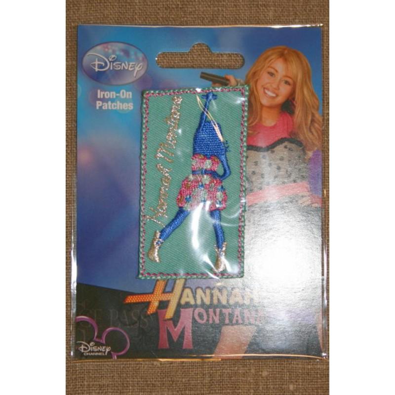 Strygemærke Hannah Montana, aqua-33