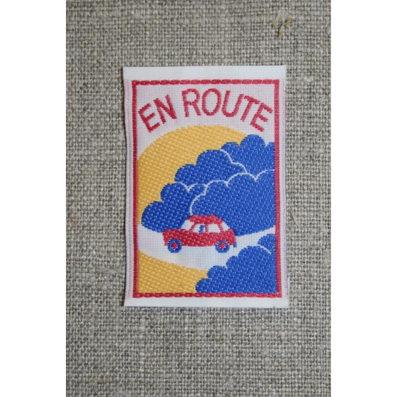"""Mærke m/bil, """"en route""""-33"""
