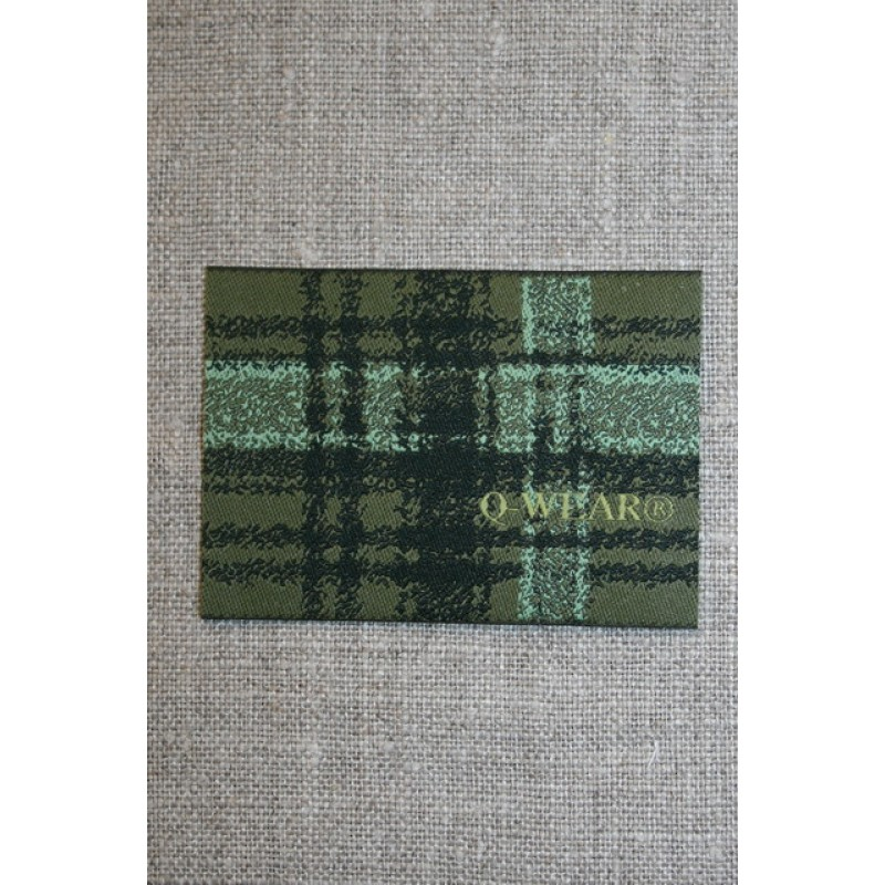 Mærke ternet Q-wear, grøn-31