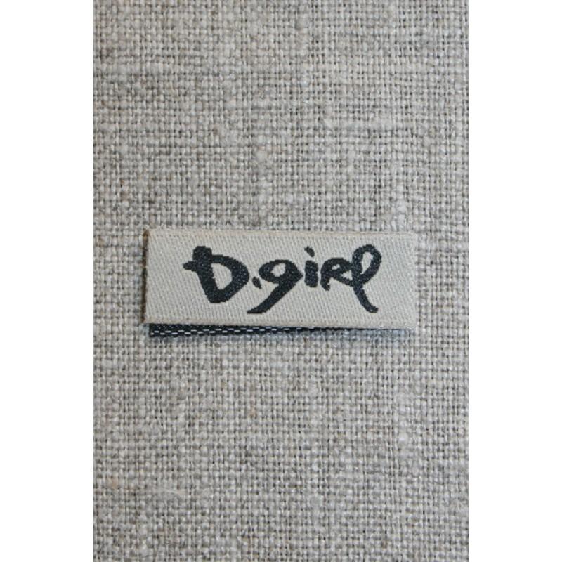 D.girl kit/sort mærke til sidesøm-33