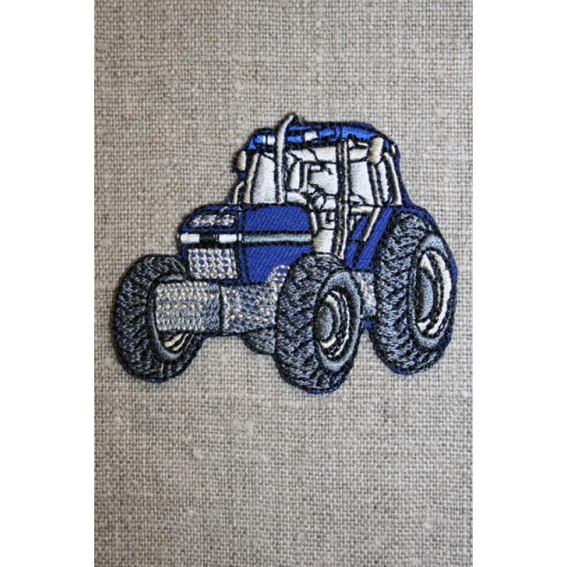 Motiv traktor blå-31