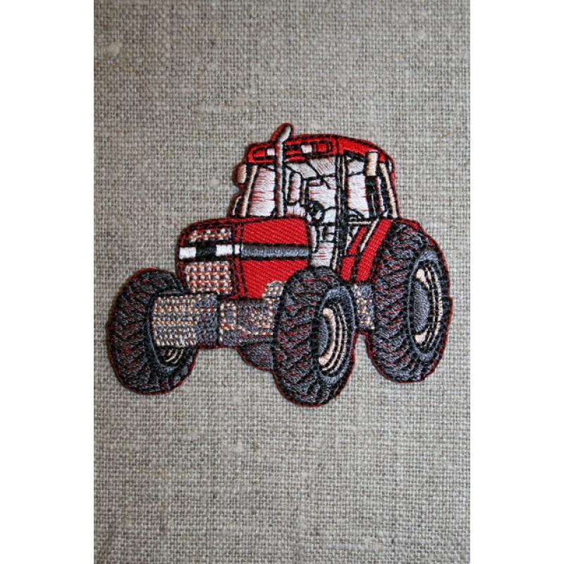 Motiv traktor rød