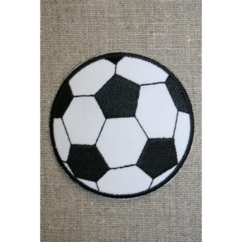 Fodbold sort/hvid, stor-31