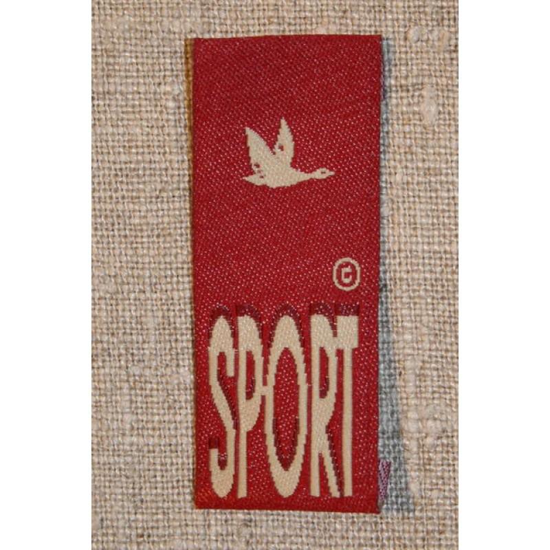 Mærke rød sport-31