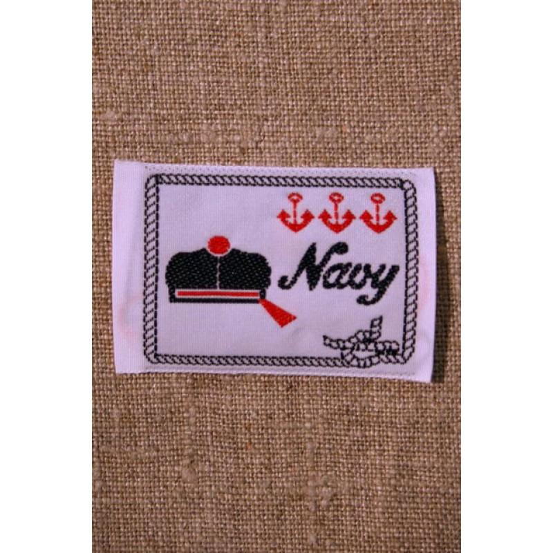 Motiv Navy Hvid/blå/rød-31