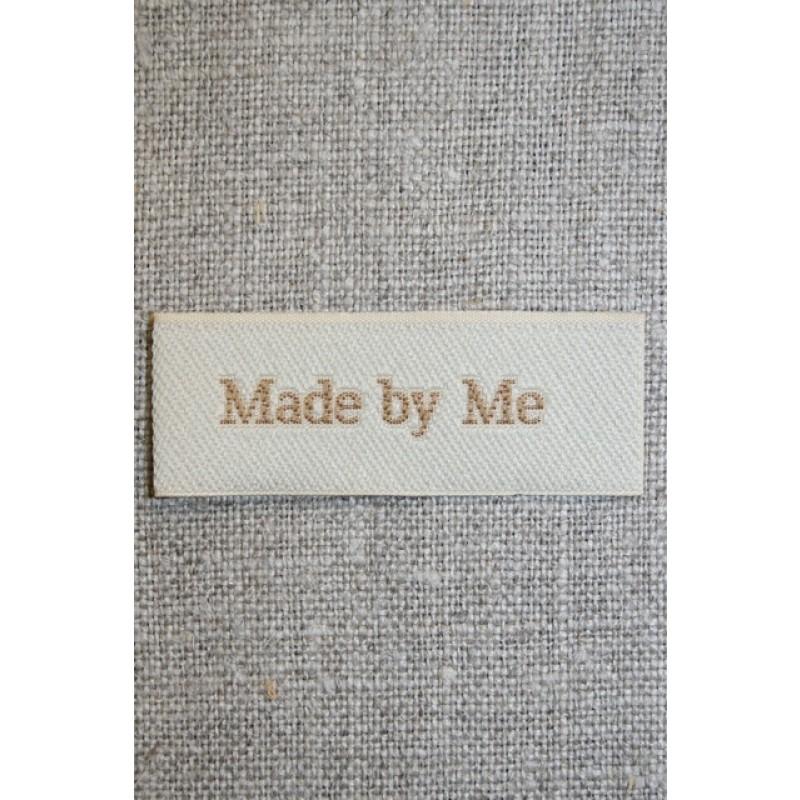 """Beige mærke """"Made by me""""-31"""
