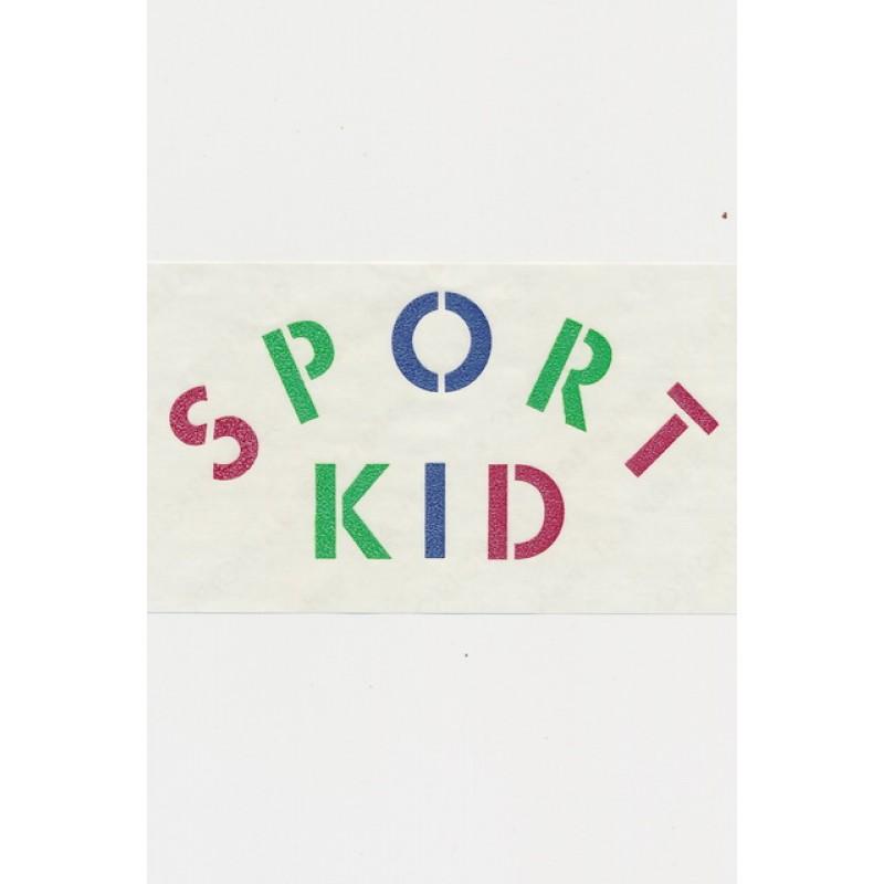 """Transfer/strygemærke """"Sport Kid"""""""