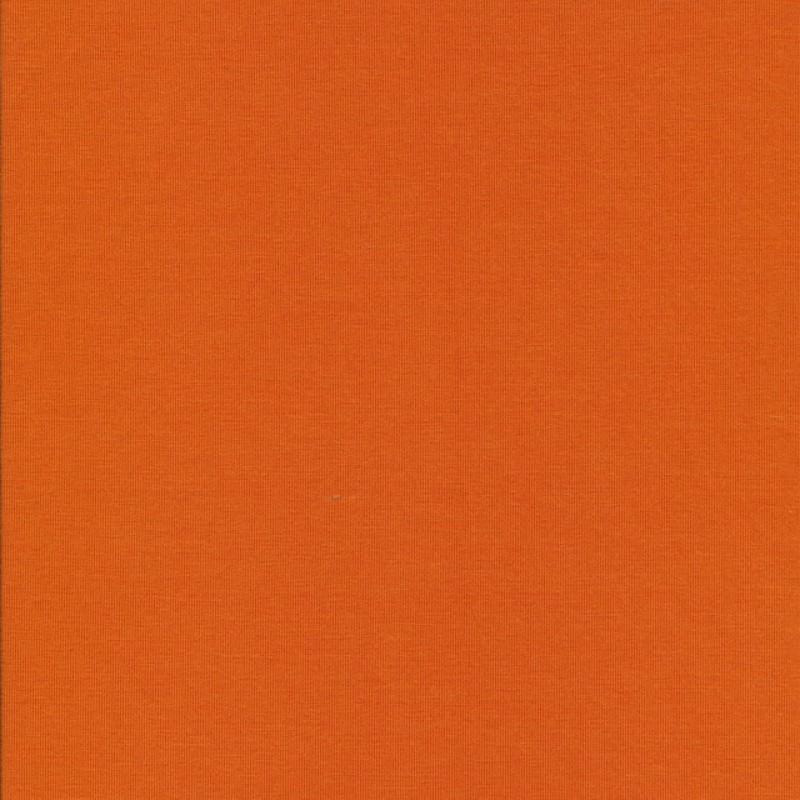 Jersey i Bambus lycra støvet orange-35