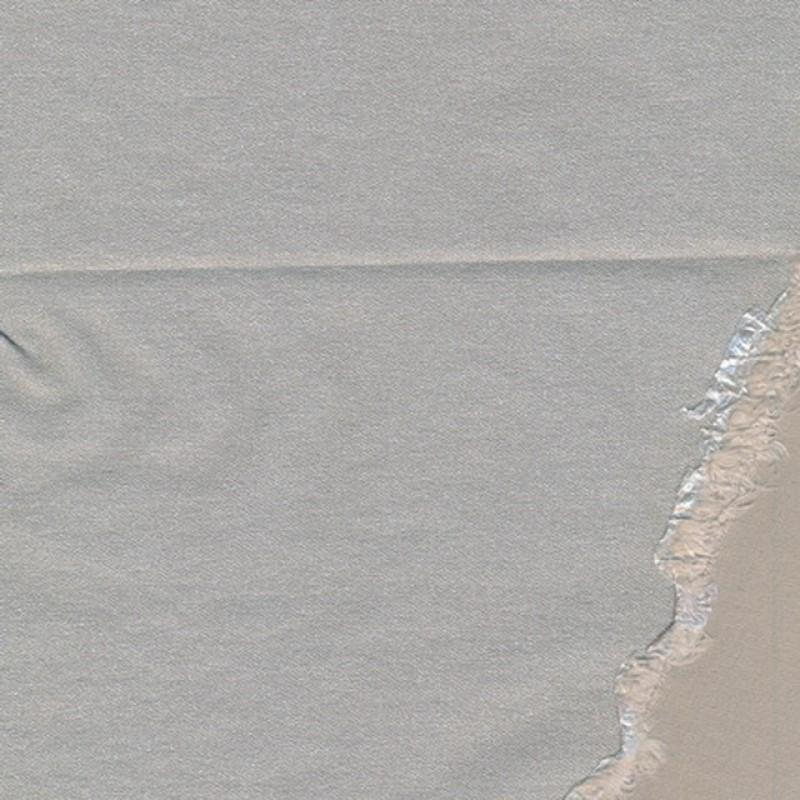 Elastisk twill m/glimmer, sand-34