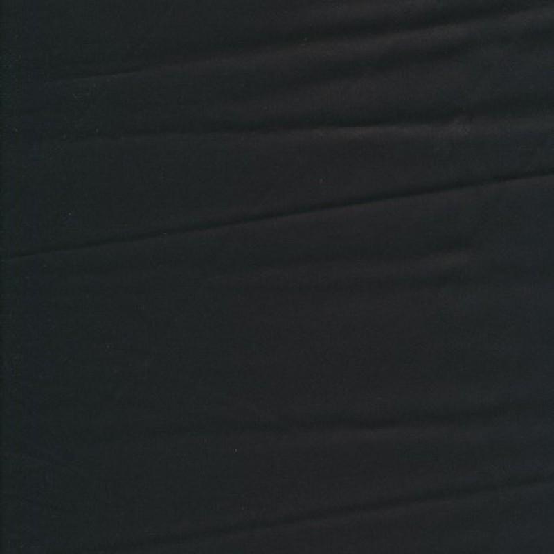 Bomuldssatin med stræk i sort-35