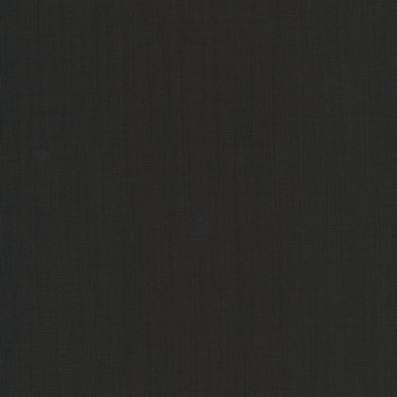 Uld/polyester m/stræk mørkebrun meleret